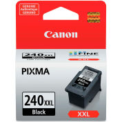 Canon® 5204B001 (PG-240XXL) Extra High-Yield ChromaLife Ink, 600 Page-Yield, Black