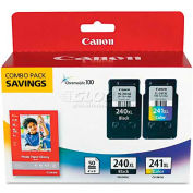 Canon® 5206B005 (PG-240, CL-241XL) High-Yld ChromaLife 100 Ink, Black, Tri-Color, 2/Pk