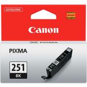 Canon® 6513B001 (CLI-251) Ink, 9 mL, Black