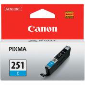 Canon® 6514B001 (CLI-251) Ink, 9 mL, Cyan