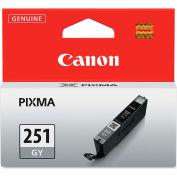 Canon® 6517B001 (CLI-251XL) Ink, 9 mL, Gray