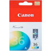 Canon® CLI36 (CLI-36) Ink Tank, 100 Page-Yield, Tri-Color