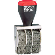2000 PLUS® Traditional Date Stamp, Six Years, 1 3/8 x 3/16""