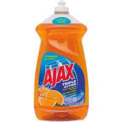 Ajax® Antibacterial Dish Detergent Liquid Orange, 52oz Bottle 6/Case - CPC49860CT