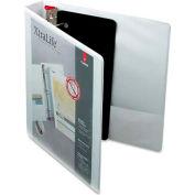 "Cardinal® XtraLife ClearVue Non-Stick Locking Slant-D Ring Binder, 1-1/2"", White"