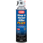 CRC® Wasp & Hornet Killer Plus Insecticide, 14 oz Aerosol Can, 12/Carton - CRI14010