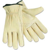 Memphis 3211XL Full Leather Cow Grain Gloves, Extra Large
