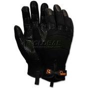 Memphis 907L Memphis Multi-Task Synthetic Gloves, Large, Black