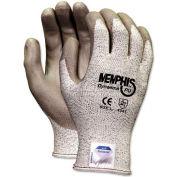 Memphis 9672L Memphis Dyneema Polyurethane Gloves, Large, White/Gray