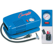 Champion Sports EP1500 Electric Inflating Pump w/ Gauge, Hose & Needle, 1/4 HP Compressor