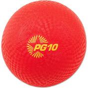 "Champion Sports PG10 Playground Ball, 10"", Red"