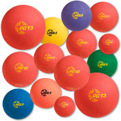 Champion Sports UPGSET1 Playground Ball Set, Multi-Size, Multi-Color, Nylon, 14/Set