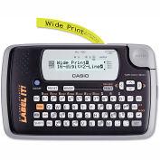 Casio® KL-120 Label Maker, 1 Lines, Black & Gray