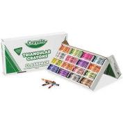 Crayola 528039 Classpack Triangular Crayons, 16 Colors, 256/BX