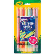Crayola 529738 Twistable Crayons, 8 Neon Colors/Set