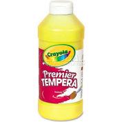 Crayola 541216034 Premier Tempera Paint, Yellow, 16 oz