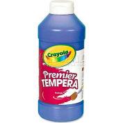 Crayola 541216042 Premier Tempera Paint, Blue, 16 oz