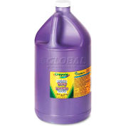 Crayola 542128040 Washable Paint, Violet, 1 gal