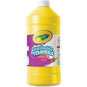 Crayola 543132034 Artista II Washable Tempera Paint, Yellow, 32 oz