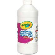 Crayola 543132053 Artista II Washable Tempera Paint, White, 32 oz