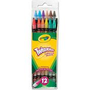 Crayola® Twistables Colored Pencils, 12 Assorted Colors/Set