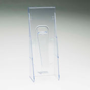 "deflect-o 55601 Stand Tall Pocket, 4-9/16""W x 2-3/4""D x 11-3/4""H, Clear"