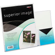 "deflect-o 599401 Superior Image Sign Holder w/Pocket, 8-1/2""W x 11""H, Clear"