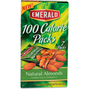 Emerald 100 Calorie Pack Almonds, All Natural, 0.63 Oz, 7/Box