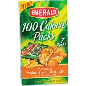 Emerald® 100 Calorie Pack Walnuts & Almonds, Natural, 0.56 oz., 7/Box