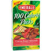Emerald 100 Calorie Pack Almonds, Dark Chocolate Cocoa Roast, 0.63 Oz, 7/Box