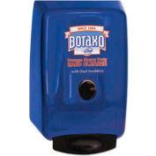 """Boraxo® 2L Dispenser for Heavy Duty Hand Cleaner, Blue, 10-1/2"""" x 5"""" x 6-3/4"""" - 1700010988"""