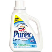 Purex® Free and Clear Liquid Laundry Detergent, Unscented, 75 oz. Bottle - 2420006040