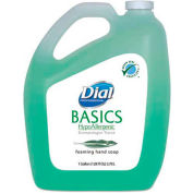 Dial® Professional Basics Foaming Hand Soap, Honeysuckle, Gallon Bottle, 4/Case - DIA 98612