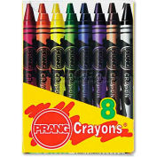 Prang 0 Crayons Made with Soy, 8 Colors/Box