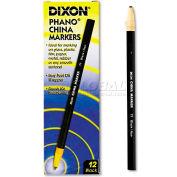 Dixon 77 China Marker, Black, Dozen