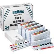 Prang DIX08020 Professional Watercolors, 8 Assorted Colors,Masterpack, 36/Set