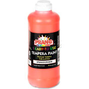 Prang 21602 Ready-to-Use Tempera Paint, Orange, 16 oz