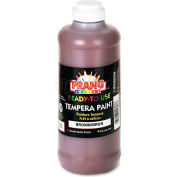 Prang 21607 Ready-to-Use Tempera Paint, Brown, 16 oz