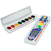 Prang 80525 Washable Watercolors, 8 Assorted Colors