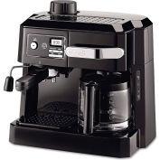 Delonghi BCO320T Combination Coffee/Espresso Machine, Black/Silver