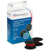 Dataproducts® R3197 Compatible Ribbon, Black/Red