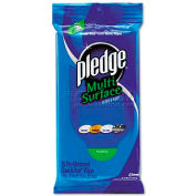 "Pledge Multi-Surface Cleaner Wet Wipes, 7"" X 10"", 25/Pack - DRACB214629EA"