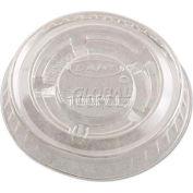 Dart® DCCPL100N, Portion Cup Lids, Fits 1/2-1 oz. cups, Plastic, Clear, 2500/Carton