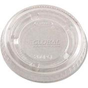 Dart® DCC 200PCL - Portion Cup Lids, Plastic, Clear, Qty. 2,500