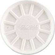 Dart® Vented Foam Lids, Fits 6-32 Oz. Cups, White