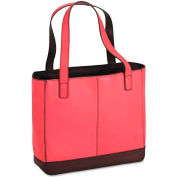 Day-Timer D48420 Leather Tote, 11-1/2 x 4 x 10, Pink