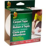"""Duck® Carpet Tape, 1.88"""" x 75ft, 3"""" Core"""