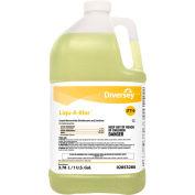 Diversey™ Liqu-A-Klor Disinfectant/Sanitizer, Gallon Bottle, 4 Bottles/Case - 2853280