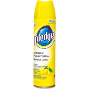 Pledge® Furniture Polish Lemon, 13.8oz Aerosol 1/Case - DVO5763074