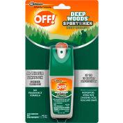OFF® Deep Woods Sportsmen Insect Repellent, 98.25% DEET, 1 oz. Pump Spray, 12 Bottles - 611090
